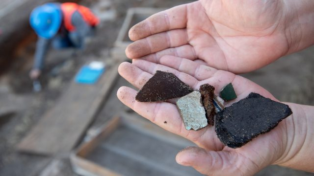 Gulf Power  project allows  UWF archaeologists to uncover remains of colonial Pensacola